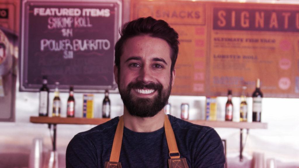 Restaurant podcast episode with Andrew Gruel of Slapfish
